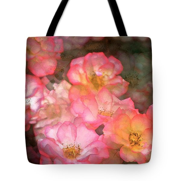 Rose 212 Tote Bag by Pamela Cooper