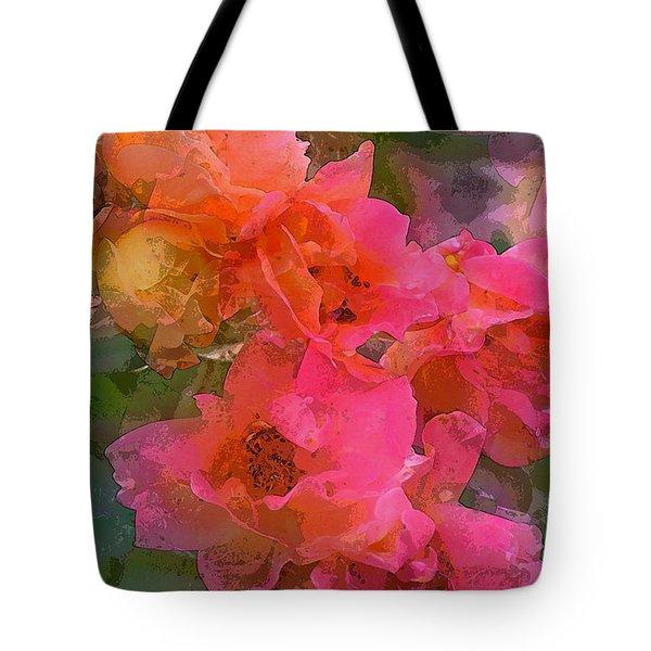 Rose 219 Tote Bag by Pamela Cooper