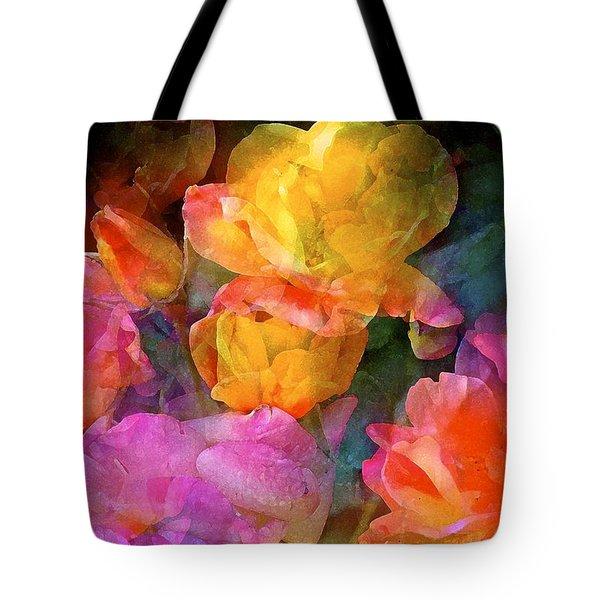 Rose 224 Tote Bag by Pamela Cooper