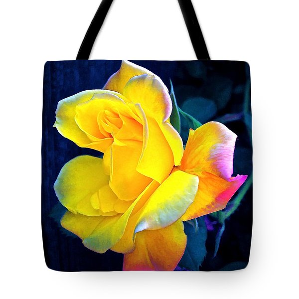 Tote Bag featuring the photograph Rose 4 by Pamela Cooper
