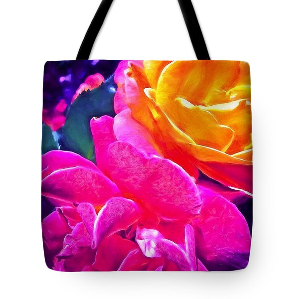 Rose 49 Tote Bag by Pamela Cooper