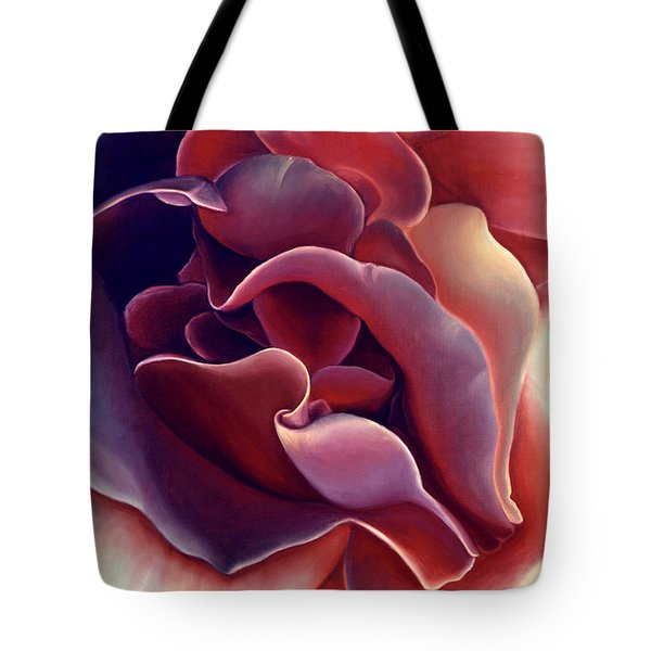 Rose Tote Bag by Anni Adkins