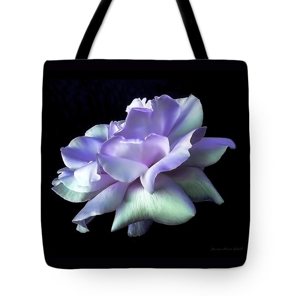 Rose Awakening Floral Tote Bag