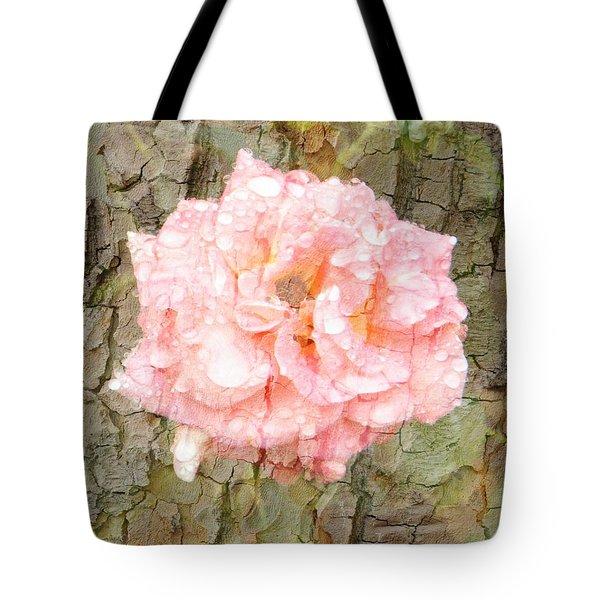 Rose Bark Tote Bag by Amanda Eberly-Kudamik