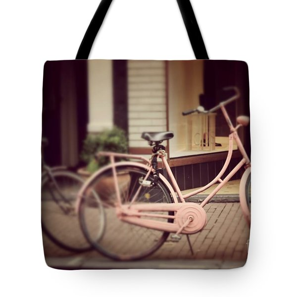 Rose Bike Tote Bag