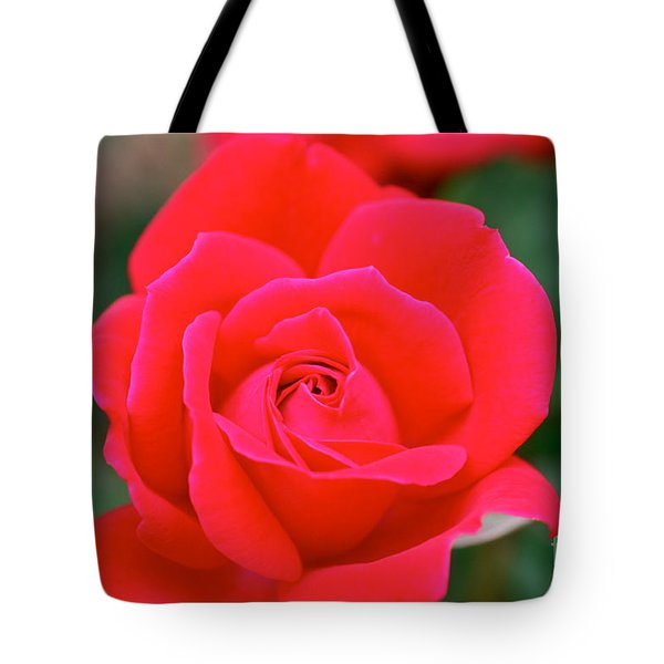Rose Cascade Tote Bag