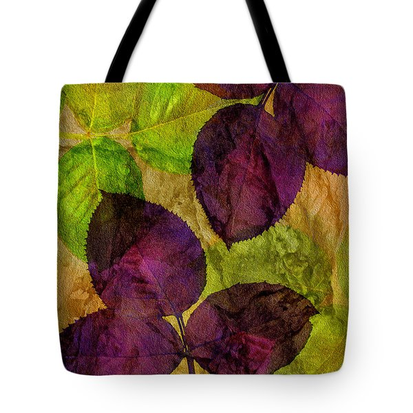 Rose Clippings Mural Wall Tote Bag