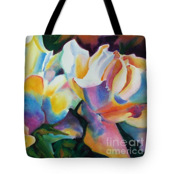 Rose Cluster Half Tote Bag