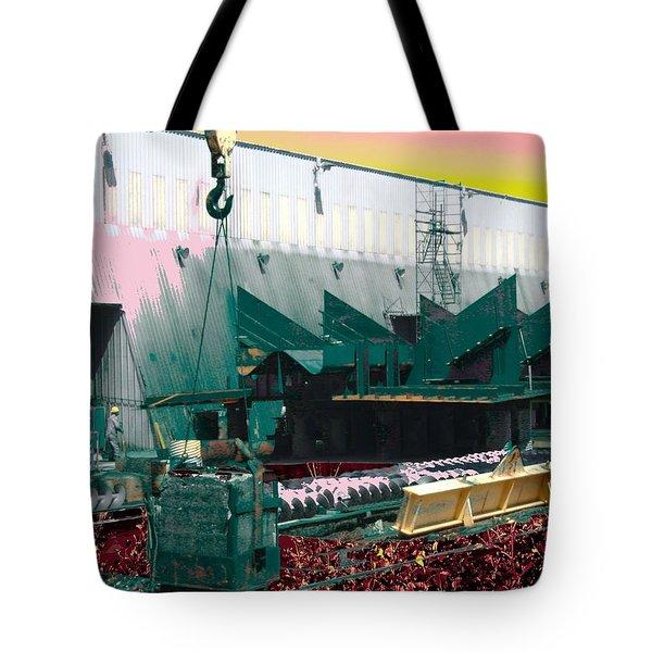 Rose Colored Healthcare Tote Bag