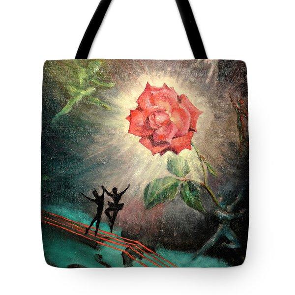 Rose Concerto  1941 Tote Bag