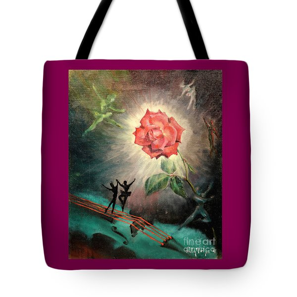 Rose Concerto  1941 Tote Bag