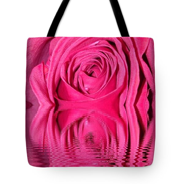Rose Drops Tote Bag