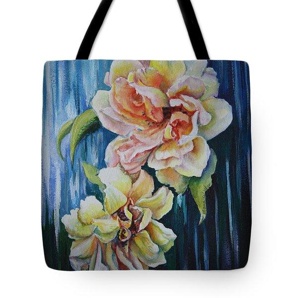 Rose Duo Tote Bag