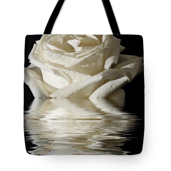 Rose Flood Tote Bag by Steve Purnell