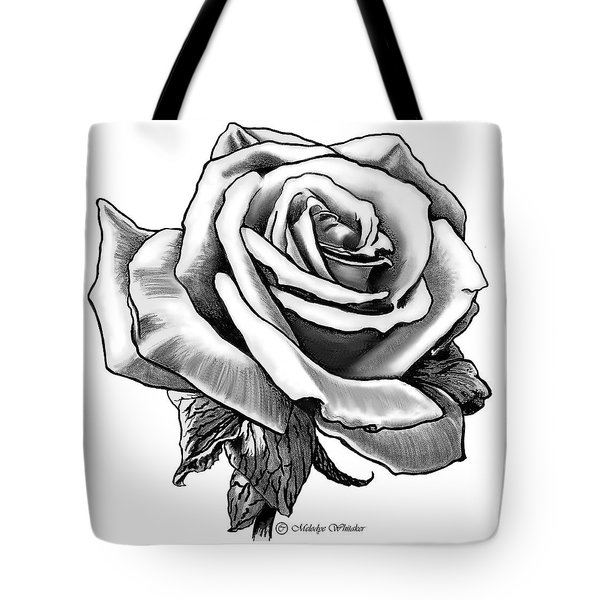 Rose Created For Canvas Comforts Tote Bag