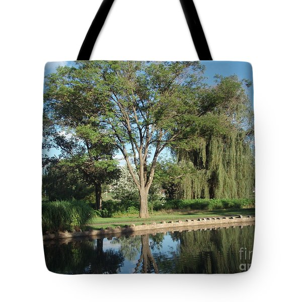 Tote Bag featuring the photograph Rose Garden  by Jeannie Rhode