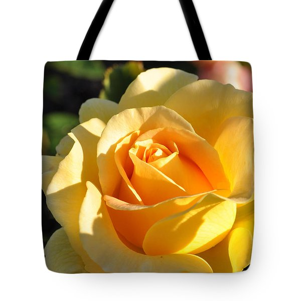 Tote Bag featuring the photograph Rose - Honey Bouquet by Sabine Edrissi