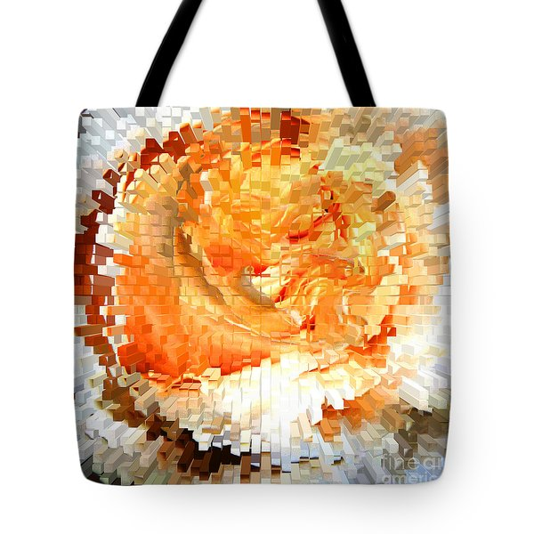 Rose In Bloom Tote Bag