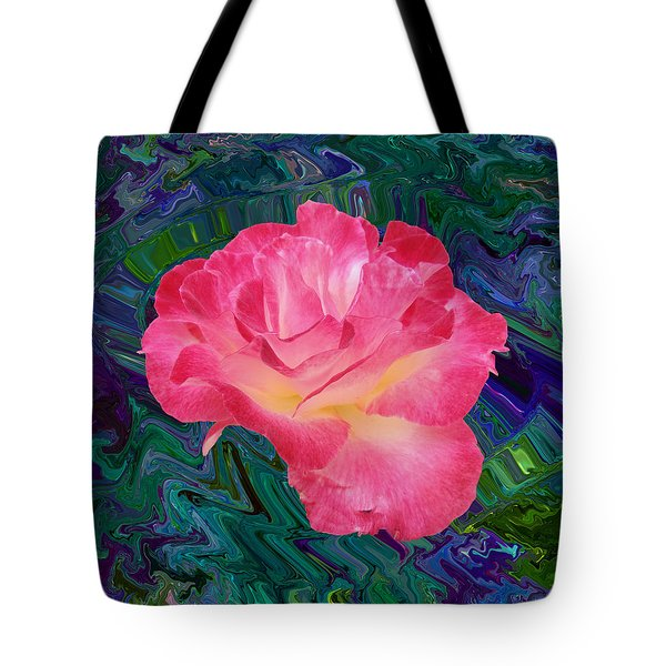 Rose In The Matter Of Your Hand V7 Tote Bag