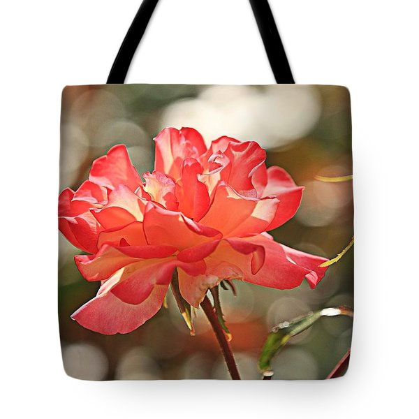 Rose Is Not Just A Rose Tote Bag