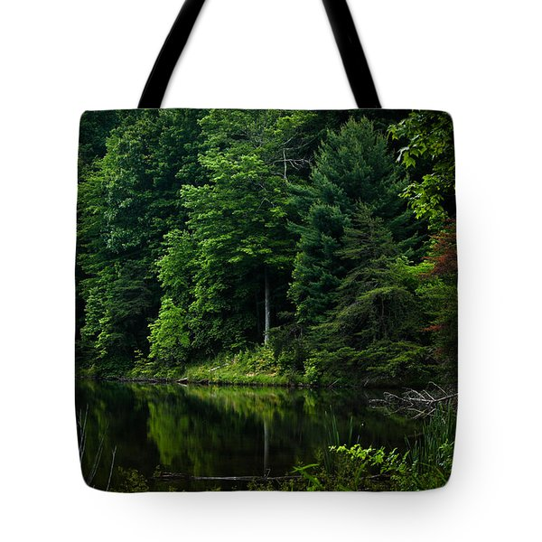 Rose Lake Beauty Tote Bag