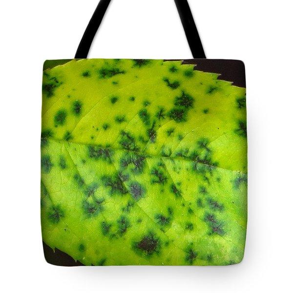Rose Leaf Tote Bag by Sonali Gangane