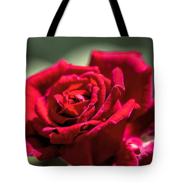 Tote Bag featuring the photograph Rose by Leif Sohlman