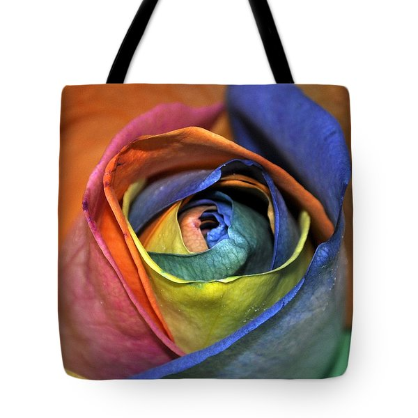 Rose Of Equality Tote Bag by Jim Brage