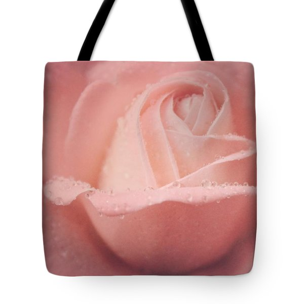 Tote Bag featuring the photograph Rose Of Rain by The Art Of Marilyn Ridoutt-Greene
