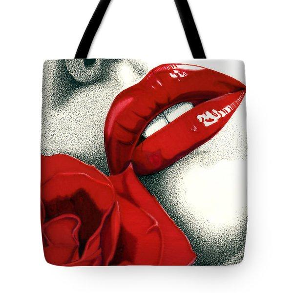 Rose Of Seduction Tote Bag
