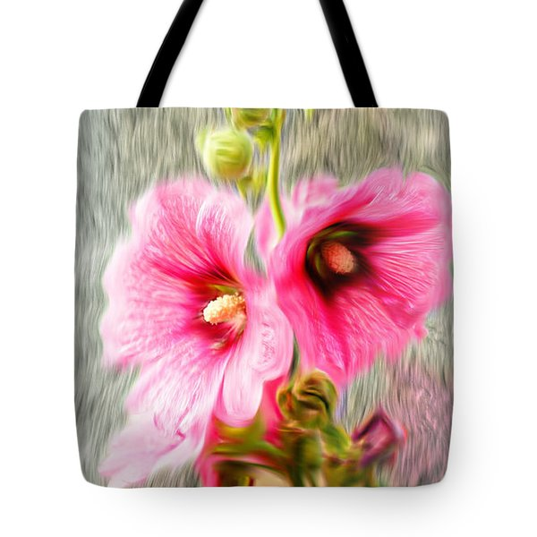 Rose Of The North Abstract. Tote Bag