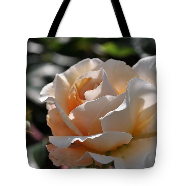 Tote Bag featuring the photograph Rose Pegasus by Sabine Edrissi