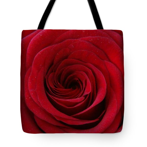 Tote Bag featuring the photograph Rose Red by Shawn Marlow