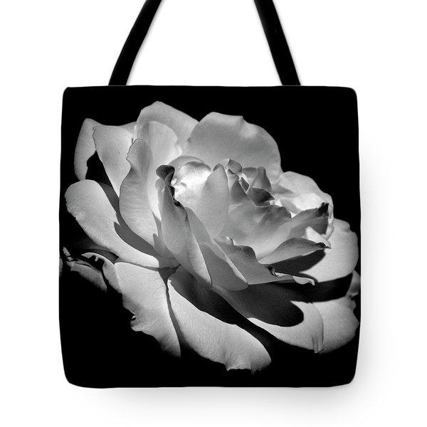 Rose Tote Bag by Rona Black