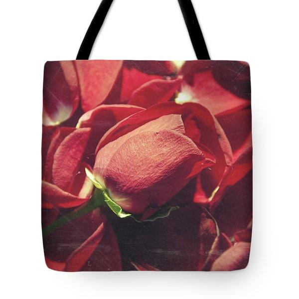 Rose Tote Bag by Taylan Apukovska