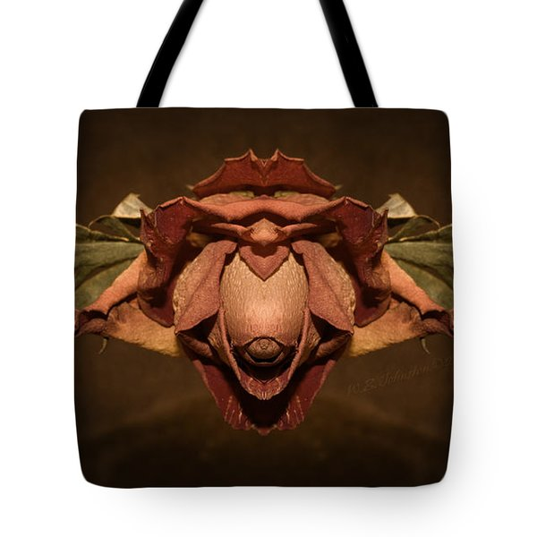 Tote Bag featuring the photograph Rosebird by WB Johnston