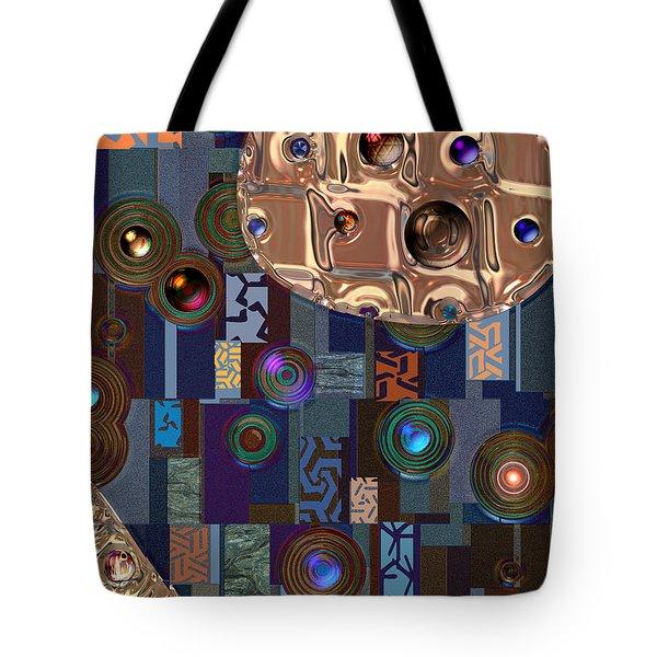 Rosegold River Tote Bag