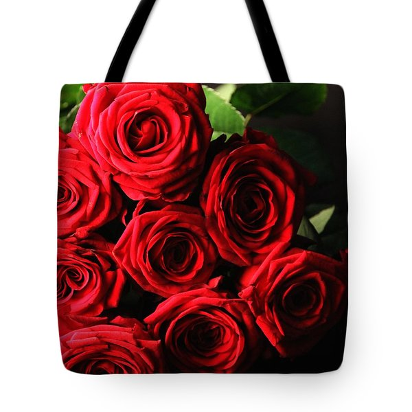 Tote Bag featuring the photograph Roses 3 by Mariusz Czajkowski