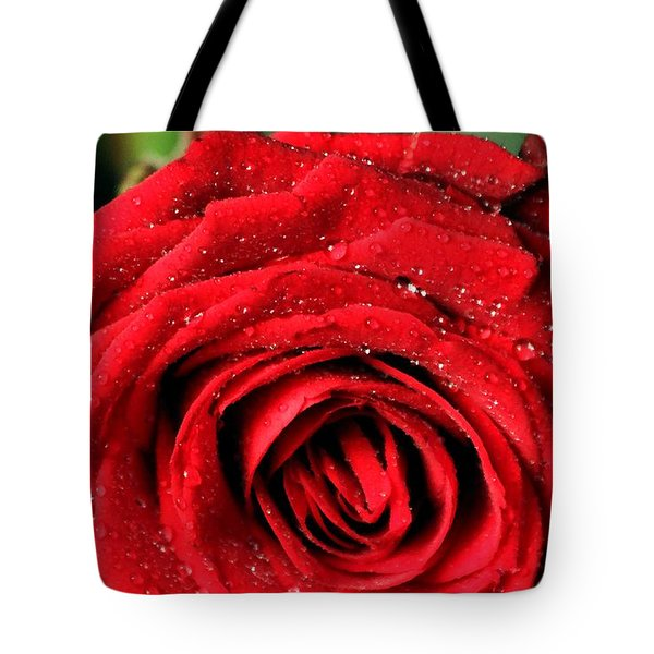 Tote Bag featuring the photograph Roses 4 by Mariusz Czajkowski