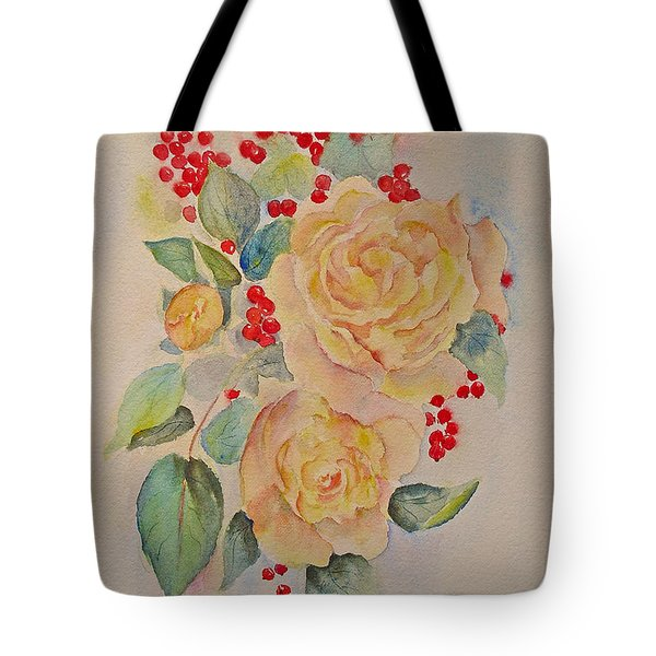 Roses And Redcurrants Tote Bag