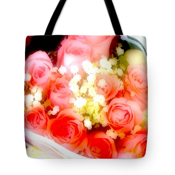 Tote Bag featuring the photograph Roses Are Red. by Ira Shander