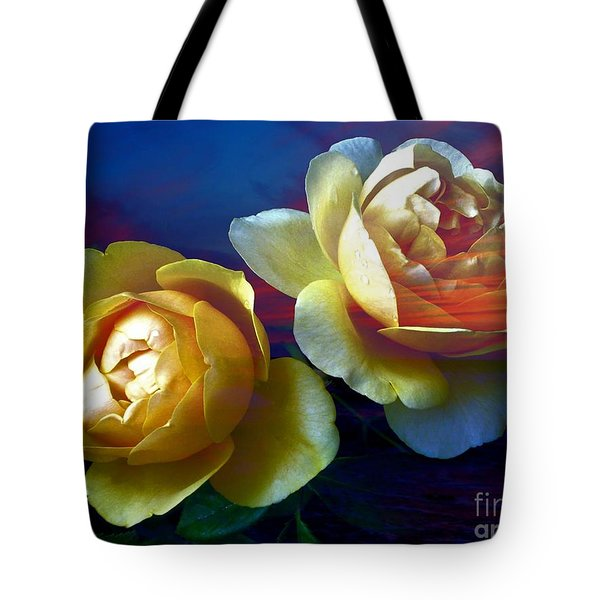 Roses By The Sea Tote Bag