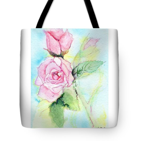 Roses Tote Bag by C Sitton