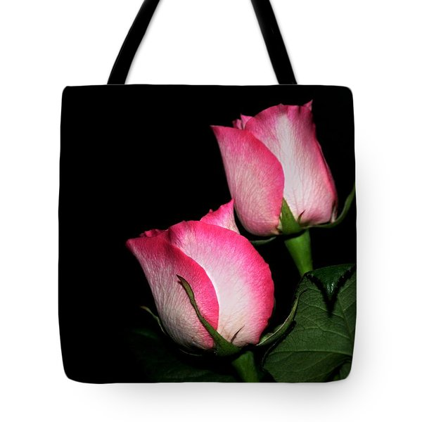 Roses Tote Bag by Cathy Harper