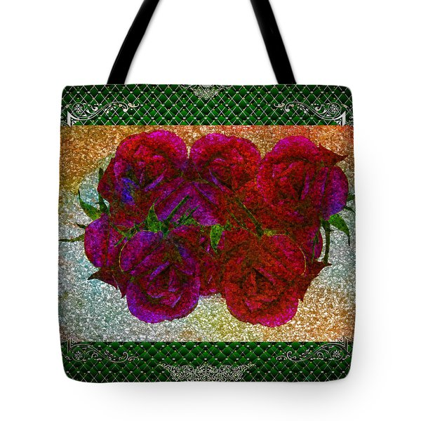 Roses- Featured In Beautiful Roses And Comfortable Art Groups Tote Bag by EricaMaxine  Price
