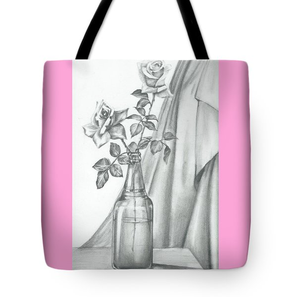 Roses Tote Bag by Gayatri Ketharaman