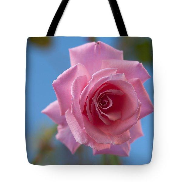 Roses In The Sky Tote Bag
