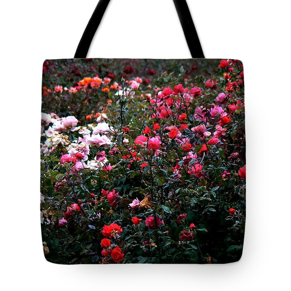 Roses Tote Bag by Lin Haring