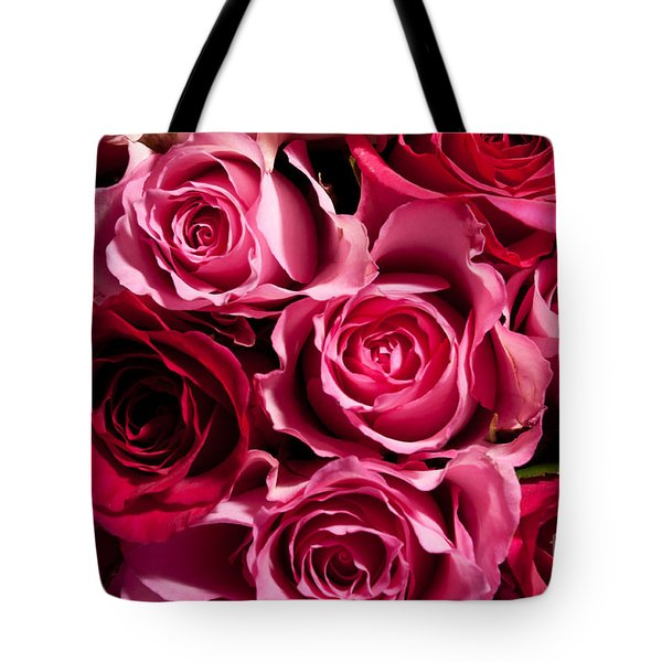 Tote Bag featuring the photograph Roses by Matt Malloy