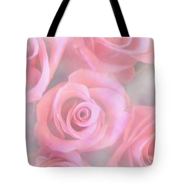 Roses Tote Bag by Mikki Cucuzzo